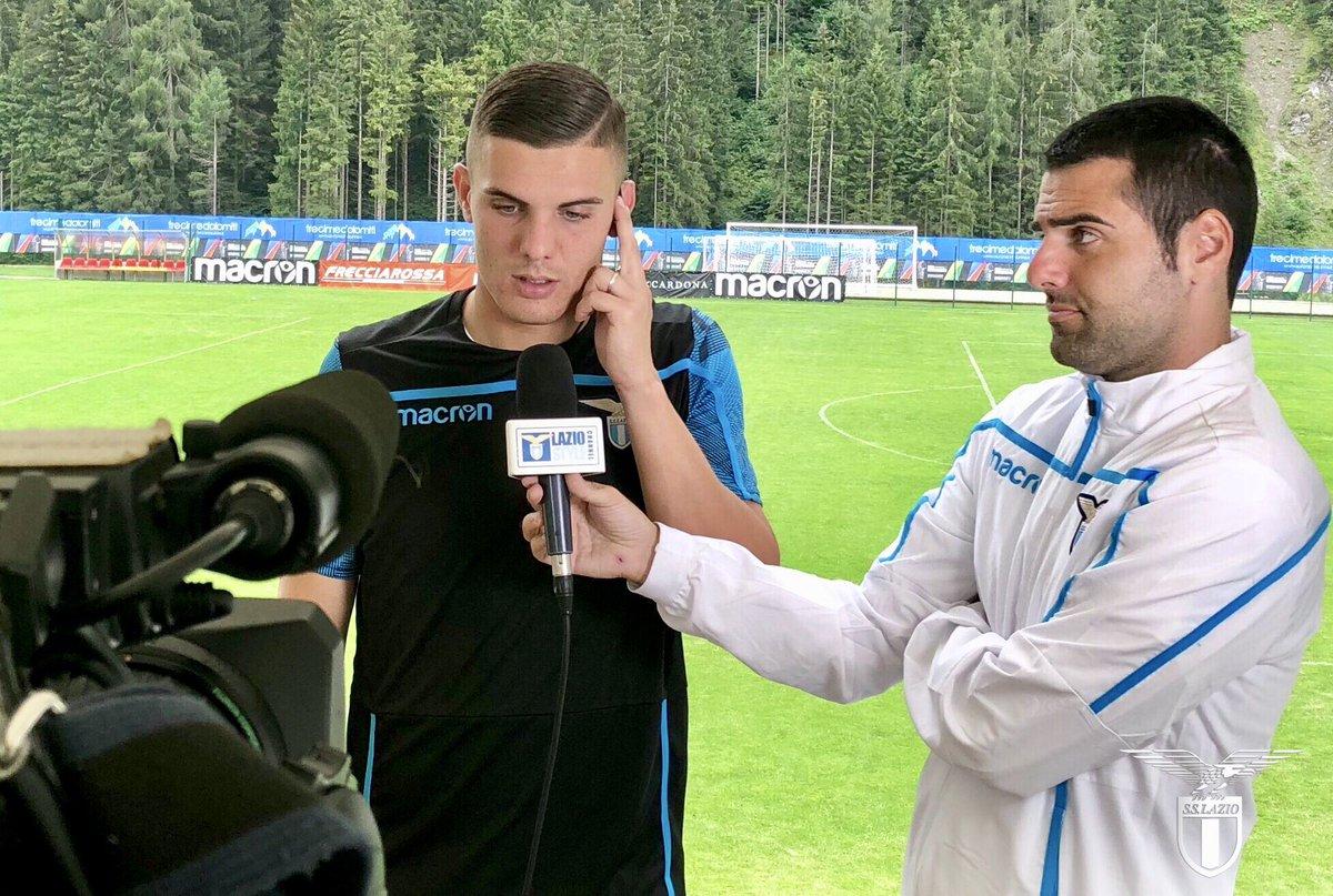 Allenamento Lazio vesti